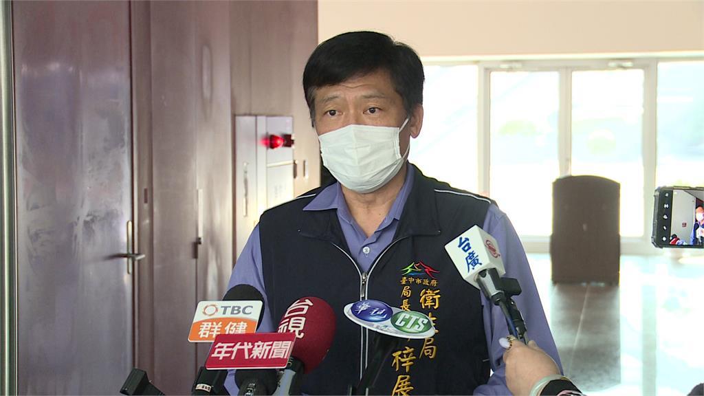 台中市衛生局長曾梓展。圖:台視新聞