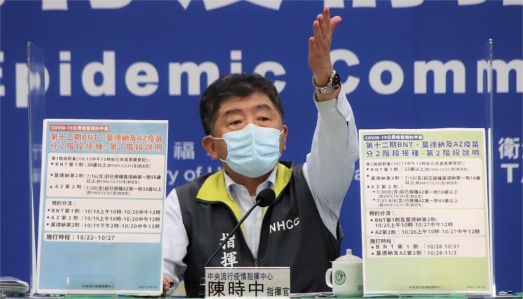 指揮官陳時中。圖/台視新聞