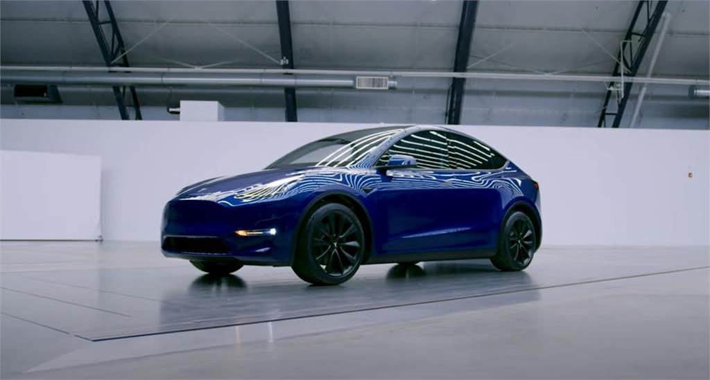 特斯拉Model Y車款。圖/翻攝自YouTube@Tesla