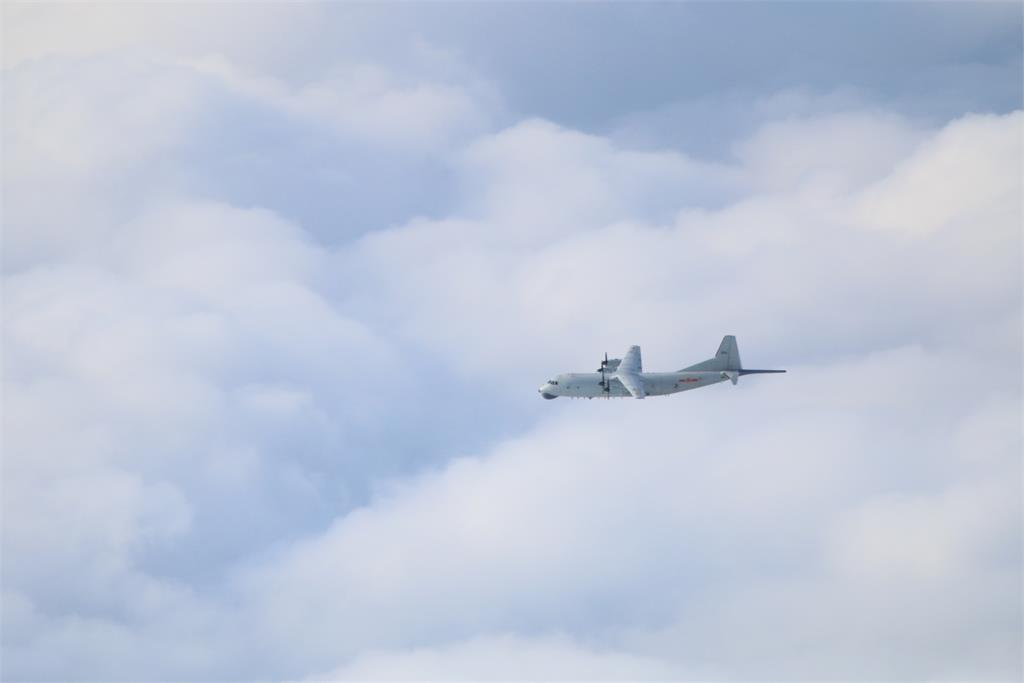 架數創新高! 中國25架共機擾台西南防空識別區