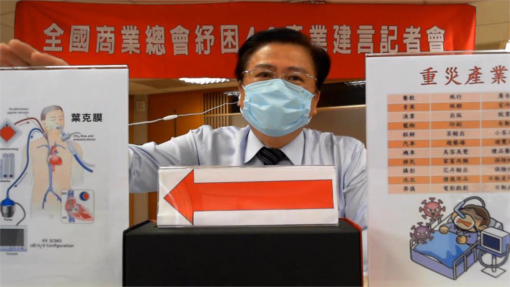 全國商總理事長許舒博。圖/非凡新聞