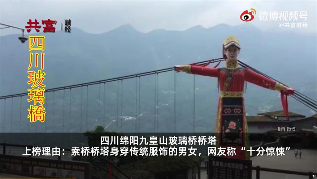 中國票選「十大醜陋」建築 巨大男女雕像吊橋、小提...
