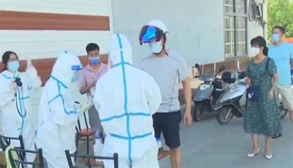 中國福建疫情持續延燒。圖/翻攝自CCTV