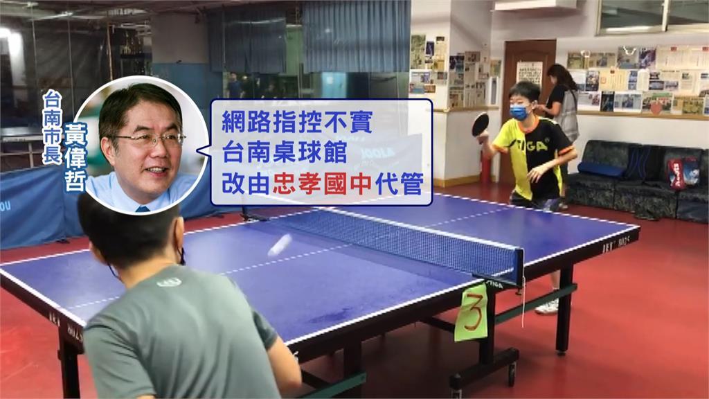 鄭怡靜被逼移籍台北?台南市府反駁指控。圖/台視新聞
