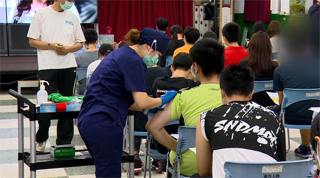 校園開打BNT!台北、桃園、苗栗傳學生不適