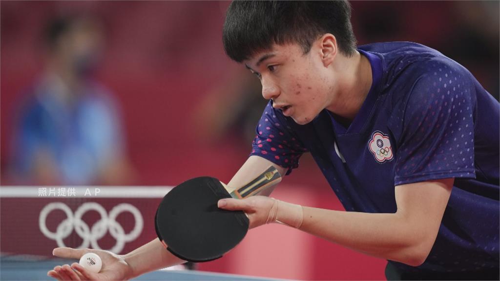 桌球好手林昀儒,初登奧運就奪下好成績。圖:台視新聞
