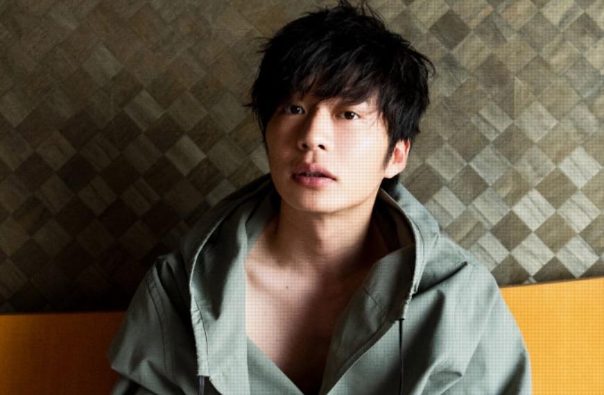 日本男演員田中圭確診新冠肺炎。圖/翻攝自田中圭官網