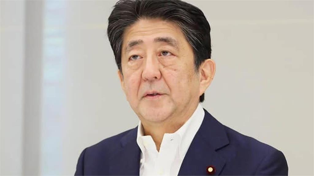 日本前首相安倍晉三。圖/資料照,翻攝自首相官邸臉書