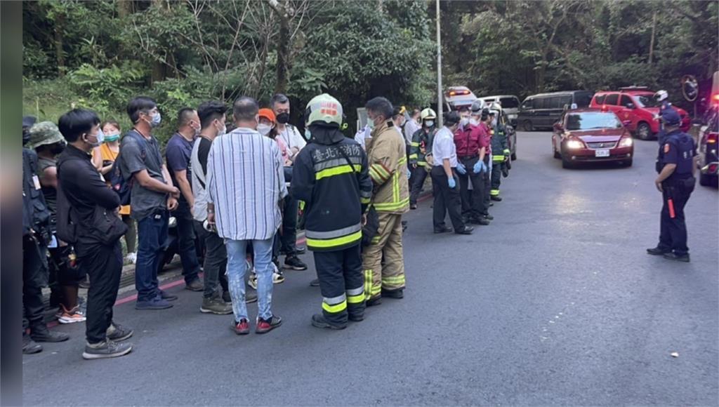 劇組赴竹子湖拍戲疑驚動虎頭蜂 9人遭螫傷