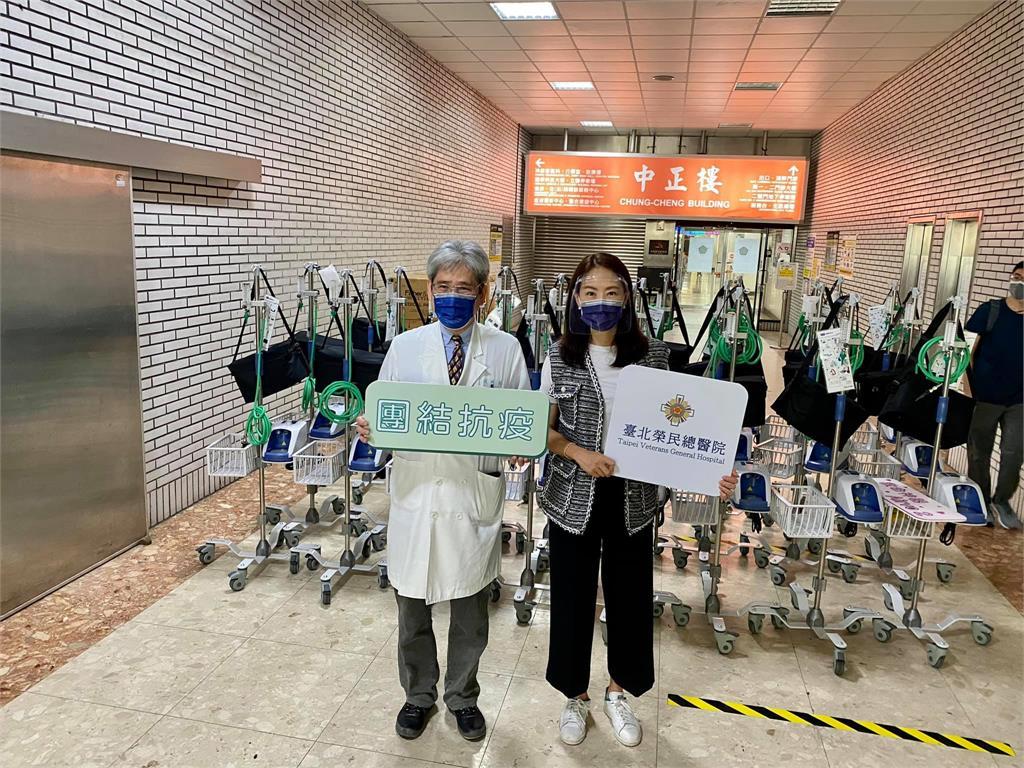 企業、藝人共捐342台「救命神器」 賈永婕曝「神...