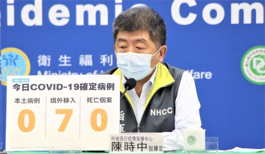 美國最快11/3許可輝瑞兒童疫苗 陳時中:台灣還要點時間觀察