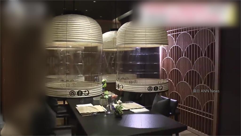 防疫新美學! 日本餐廳推「燈籠」造型透明罩
