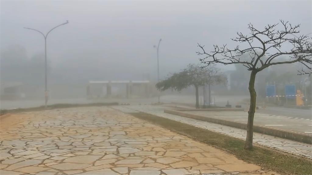 旅客注意!金門又見濃霧 能見度僅50公尺