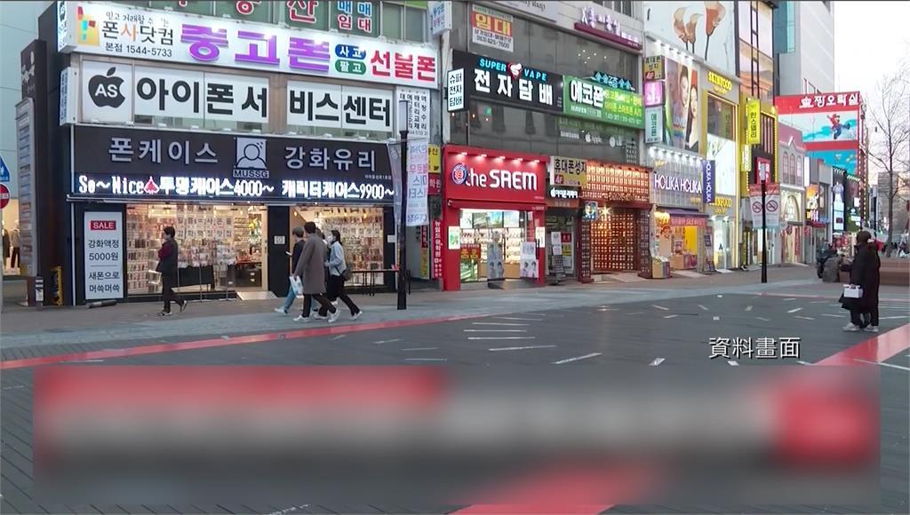 南韓欲推動旅遊泡泡,首批名單有台灣。圖/台視新聞