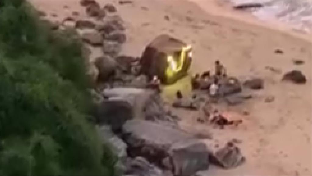 新北水域沒開放! 6人闖神祕海岸辦營火趴