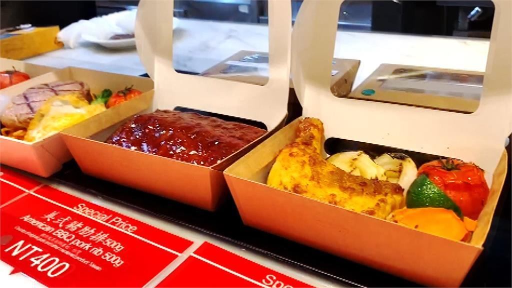 台北君悅跟進飯店賣場化行列,將自助餐變為熟食賣場。圖/非凡新聞