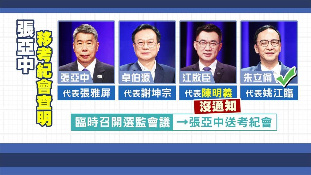 國民黨主席之爭引發茶壺內風暴。圖/台視新聞