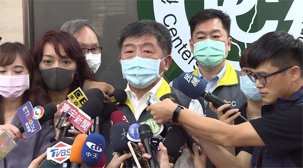 疫情指揮中心指揮官陳時中表示,CDC同仁應總統邀請參與明(20日)總統就職大典。圖:台視新聞