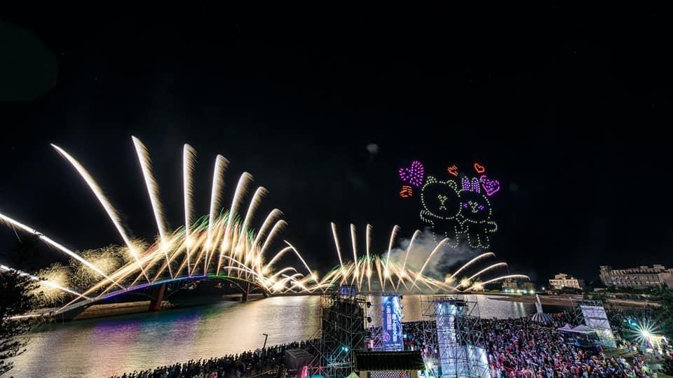 今年澎湖花火節停辦。圖/翻攝自Facebook@@phfireworks