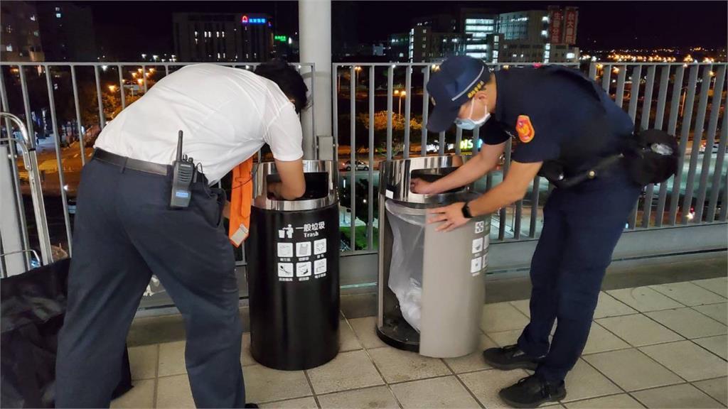 警察加強巡邏。圖/台視新聞