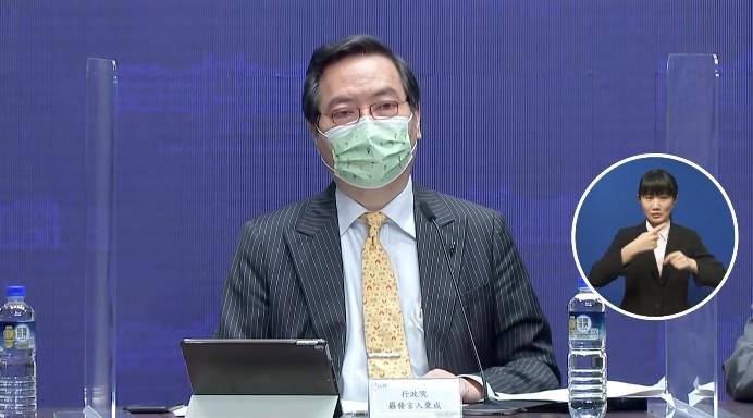 行政院政務委員兼發言人羅秉成。圖/台視新聞