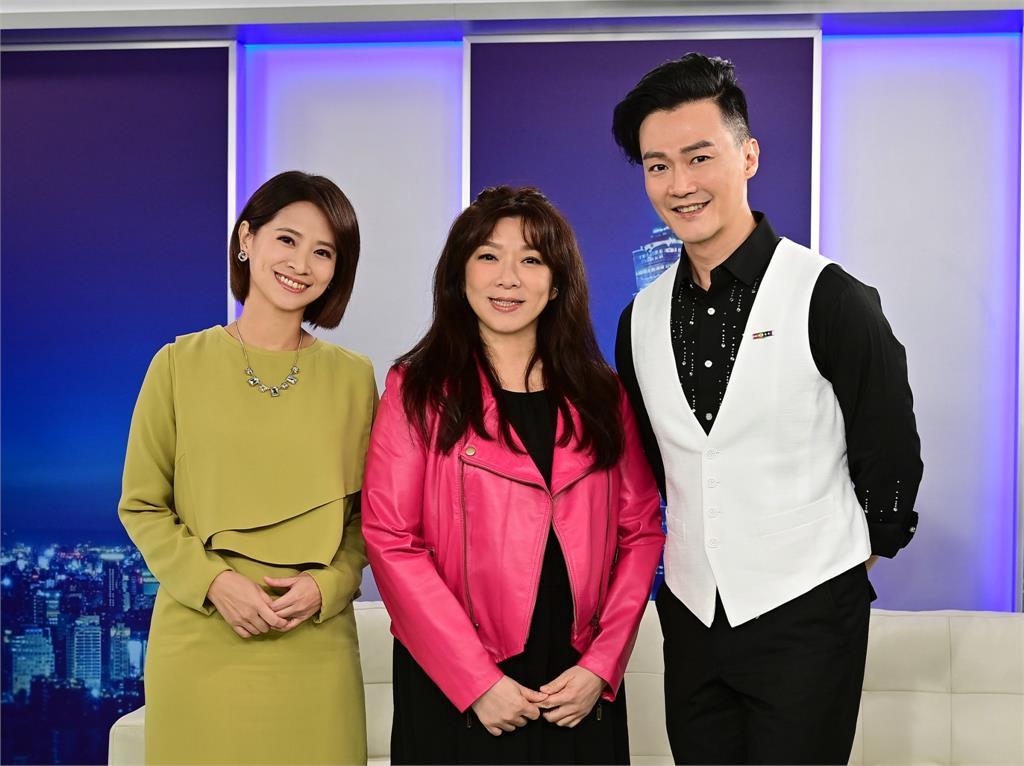 趙詠華和林俊逸兩位美聲歌手驚喜合作,要把經典歌曲以合唱方式重現,擦出新火花。 圖:台視新聞提供。