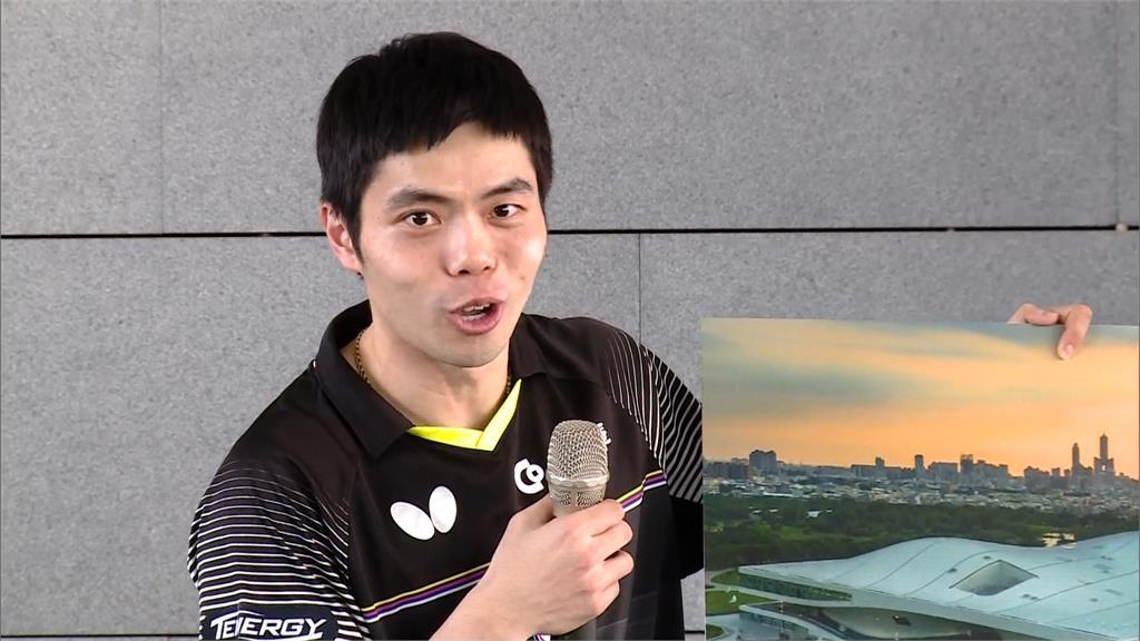 「桌球教父」莊智淵壓制香港選手  4比1晉級第四...
