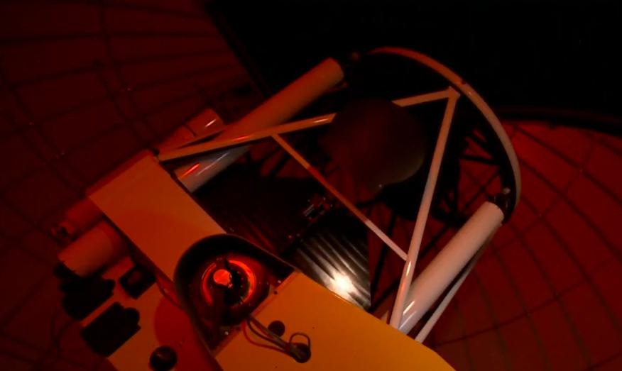 中研院天文所研究團隊設計的高速相機,每秒可量測20次 ,一萬顆星星的亮度,獨步全球。圖:台視新聞