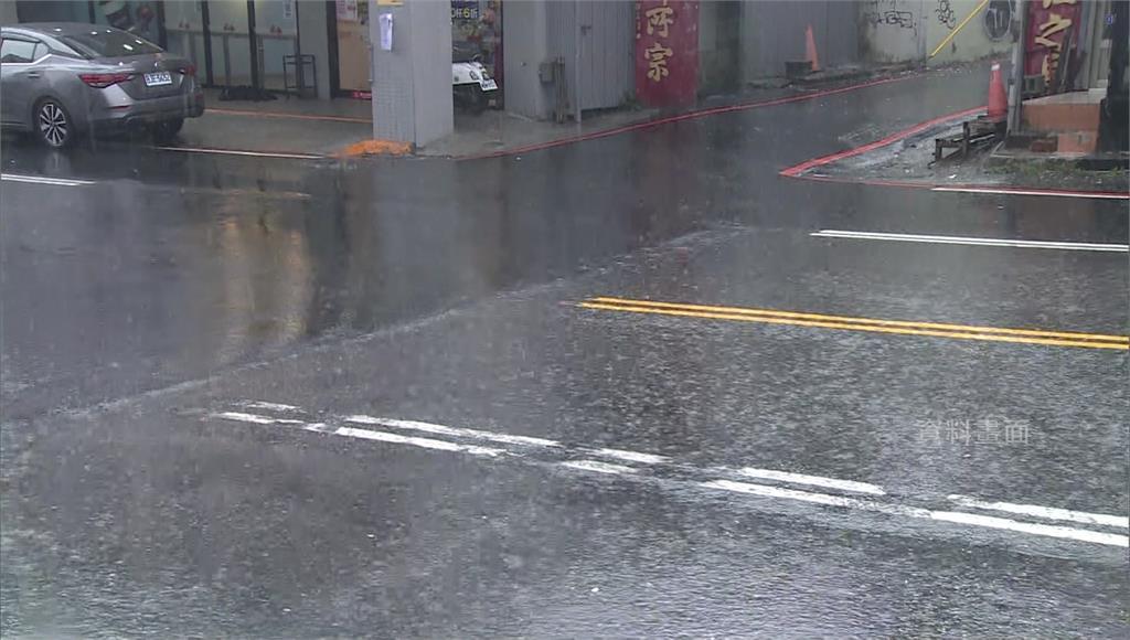 今中南部地區易有短暫雨。圖/台視新聞(資料照)