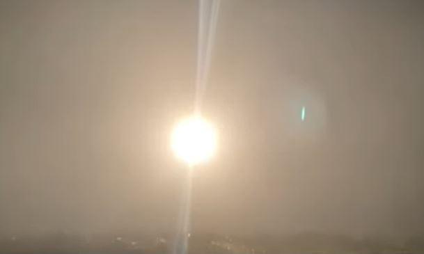 中科院在台東成功鎮基翬漁港,試射1枚「無限高」飛彈。圖/台視新聞