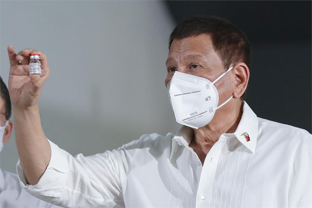菲律賓總統杜特蒂。圖/翻攝自Facebook@rodyduterte