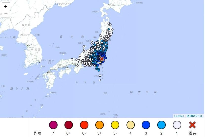 千葉縣發生規模6.1強震 新首相岸田文雄成立「臨時災害應變中心」
