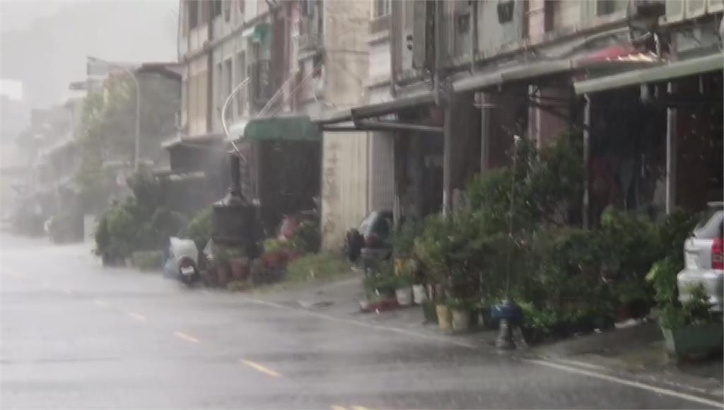 東部、中南部注意短暫陣雨或雷雨 。圖/台視新聞