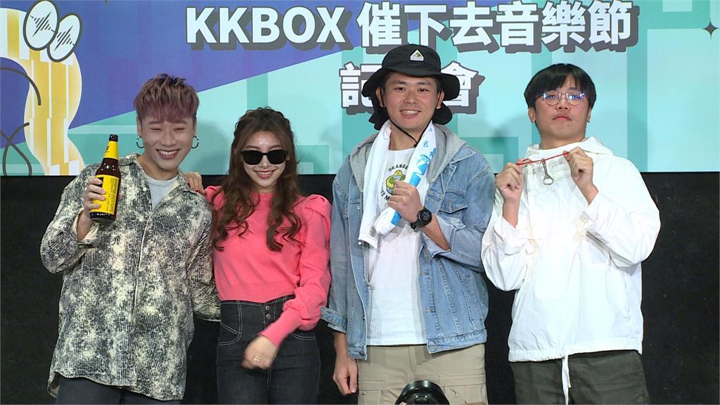 KKBOX十大風雲榜 田馥甄、瘦子、八三夭入列