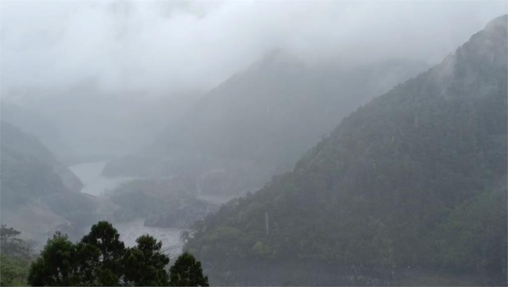 近日降雨,全台水庫皆小有進帳。圖/台視新聞