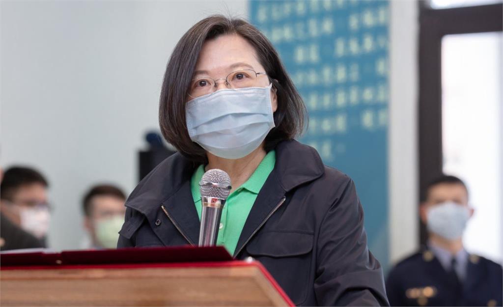總統蔡英文及總統府支持設立李登輝紀念圖書館。圖/翻攝自蔡英文 Tsai Ing-wen臉書
