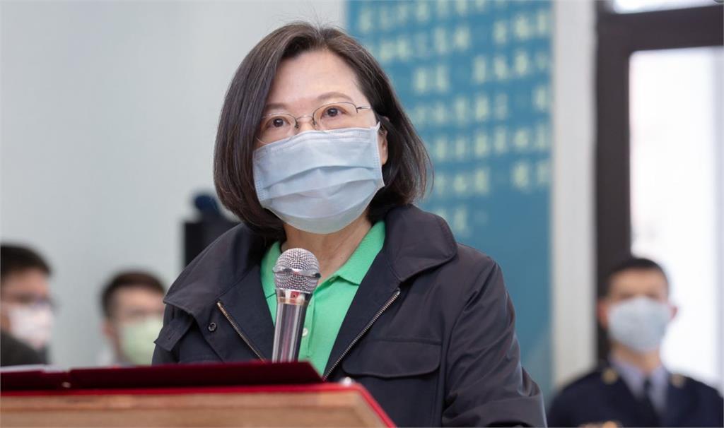 總統蔡英文。圖/翻攝自蔡英文 Tsai Ing-wen臉書