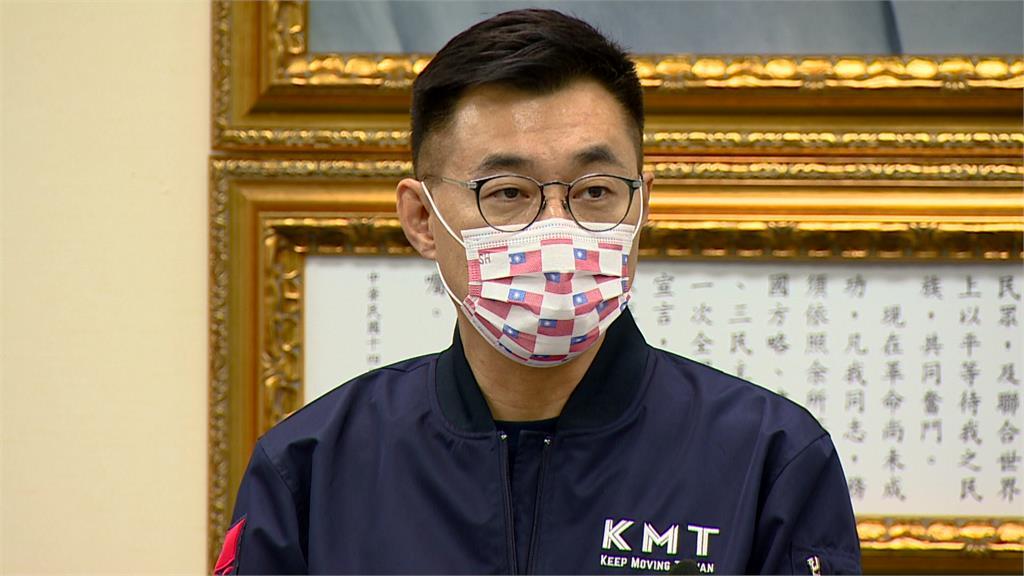 國民黨主席江啟臣。圖/台視新聞
