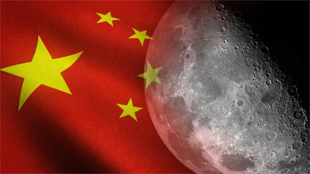 中國近年來積極進展探月計畫。合成圖/翻攝自Freepik、Unsplash