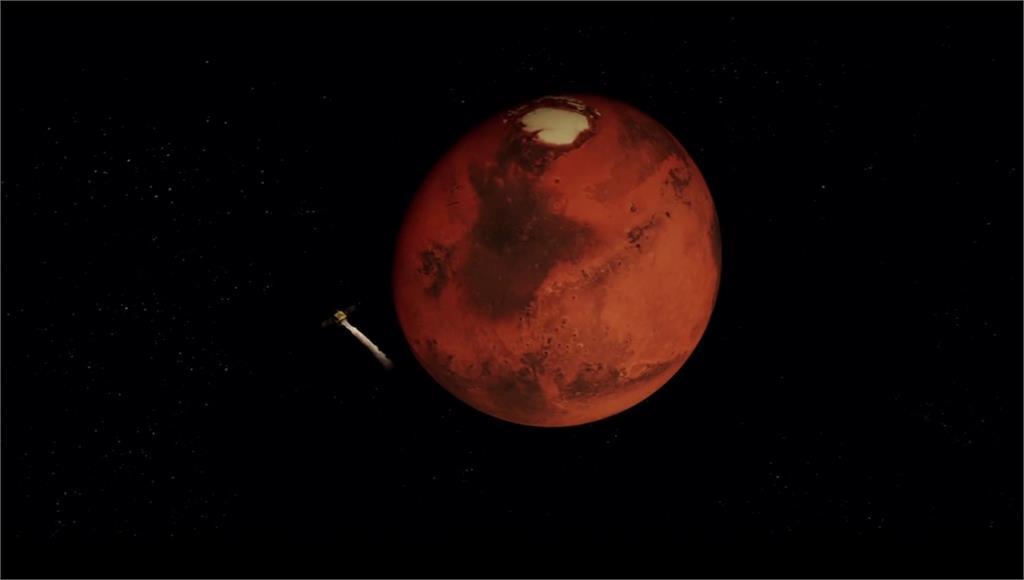 阿聯火星探測器「希望號」成功火星軌道。 圖:Ap direct