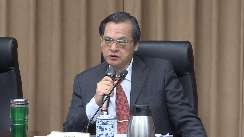 陳明通成為史上第2位文人國安局長。圖:台視新聞