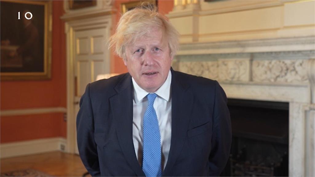英國首相強森。圖/資料照,翻攝自AP Direct