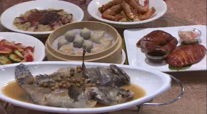 七菜一湯的5人套餐,價格4000元有找。圖/台視新聞
