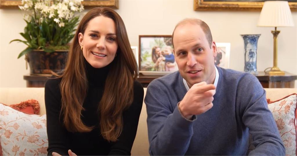 英國威廉王子跟妻子凱特王妃近日開設YouTube頻道,吸引超過40萬人訂閱。圖/翻攝自YouTube @ (The Duke and Duchess of Cambridge)