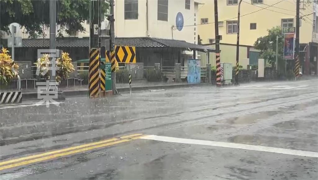 中央氣象局提醒民眾留意強降雨。圖/台視新聞(資料畫面)