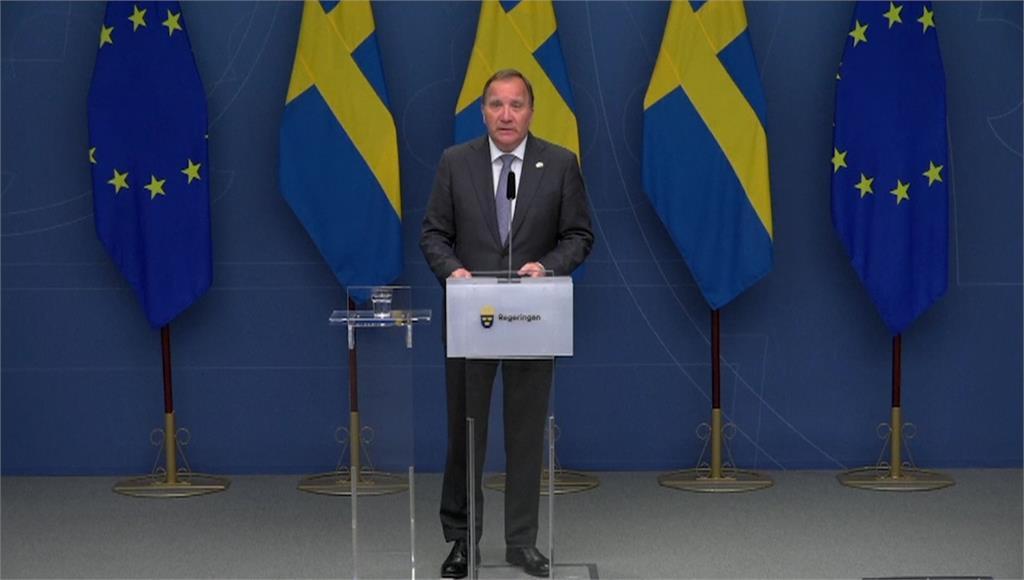 瑞典總理羅福文遭反對黨以通過不信任案投票趕下台。圖/AP