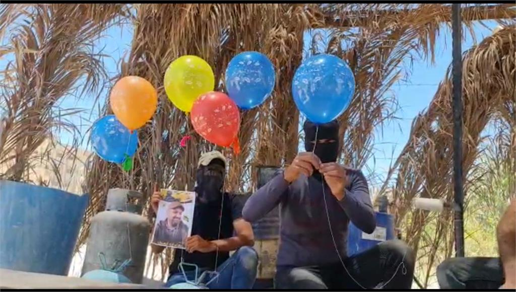巴勒斯坦、以色列再爆衝突。圖/翻攝自AP Direct