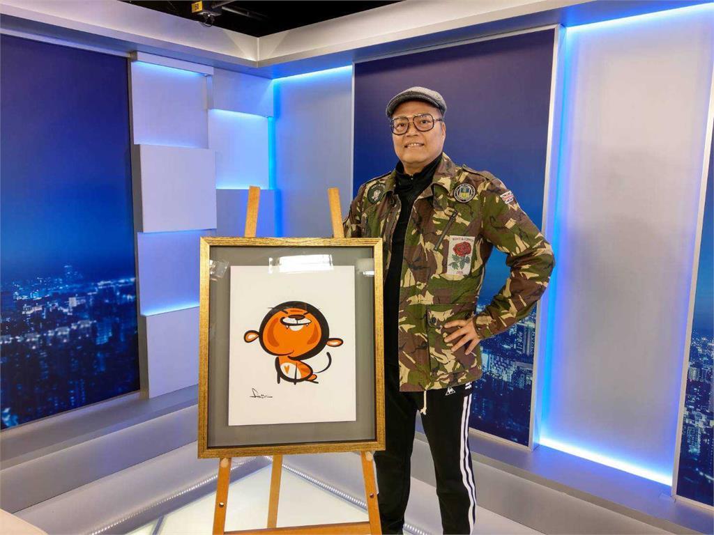 【焦點人物】漫畫大師樂觀抗癌 蕭言中:「要畫最快樂的作品」