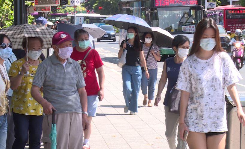北台灣高溫恐飆至37度。圖/台視新聞