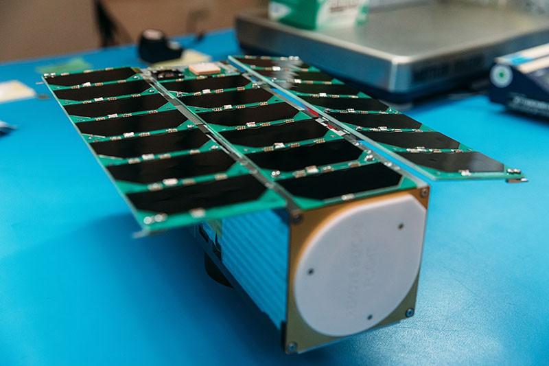 飛鼠立方衛星。圖:翻攝自國家太空中心官網